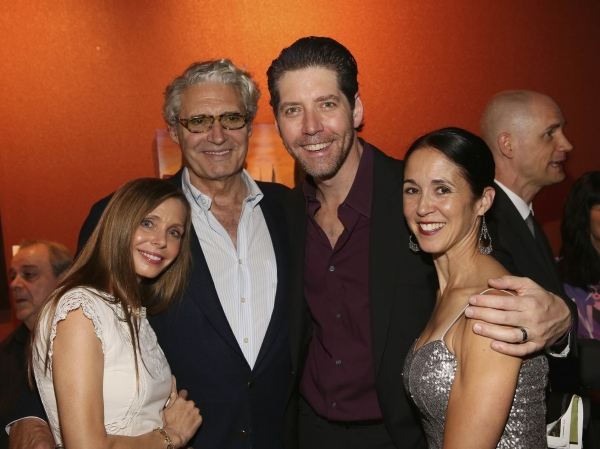 Kathy Fischer, actor Michael Nouri, cast member James Barbour and wife Dana Barbour