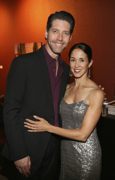 Cast member James Barbour and wife Dana Barbour