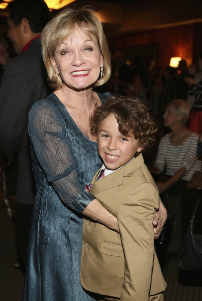 Executive Producer Cathy Rigby and cast member Jude Mason