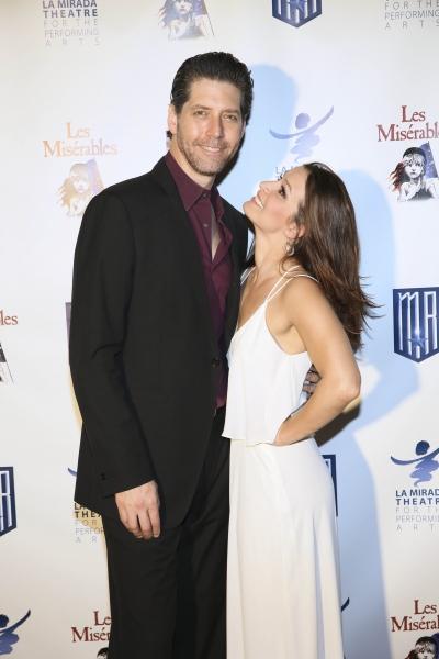 Cast members James Barbour and Cassandra Murphy