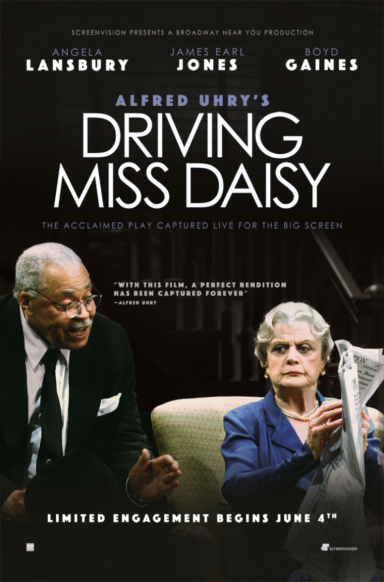 First Look - Angela Lansbury & James Earl Jones in Poster for DRIVING MISS DAISY, Coming to Theaters