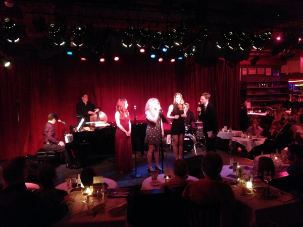 Photo Flash: Cast of 50 SHADES! THE MUSICAL Appears at Birdland