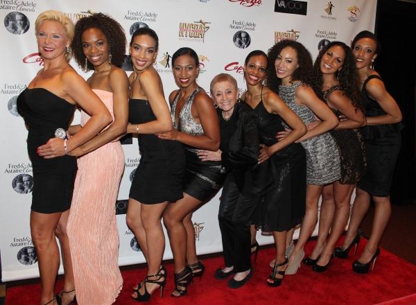 Pat Birch, Deanna Dys and the Boardwalk Empire Onyx Club dancers