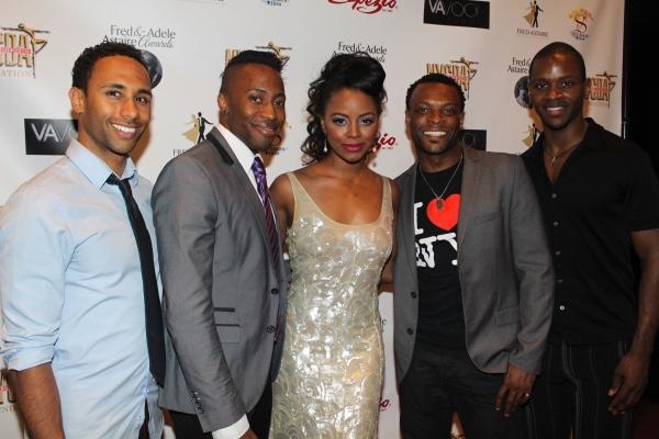 Gerald Avery, Eric LaJuan Summers, Krystal Joy Brown, Rickey Tripp and Darius Crensha Photo