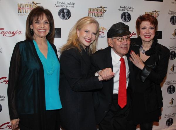 Valerie Harper, Susan Stroman, Luigi and Donna McKechnie