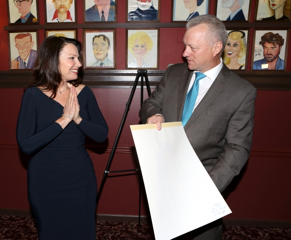 Fran Drescher and owner Max Klimavicius