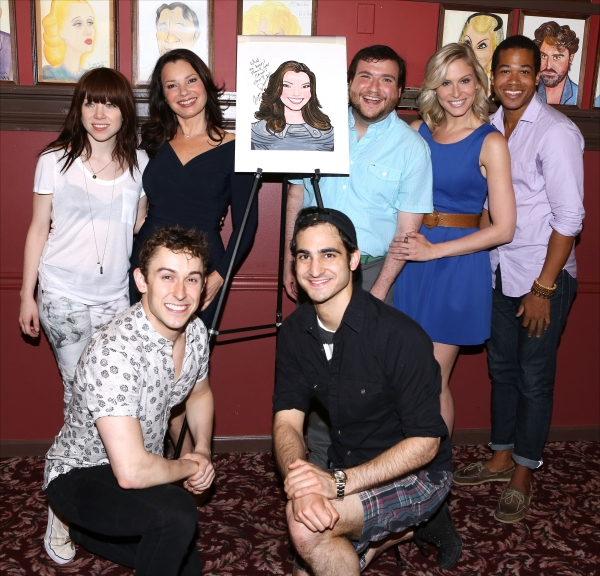Carly Rae Jepsen and Fran Drescher with the cast of ''Cinderella''