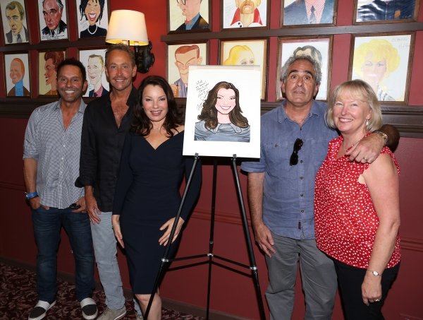 Guest, Peter Marc Jacobson, Fran Drescher, Robert Sternin and Prudence Fraser