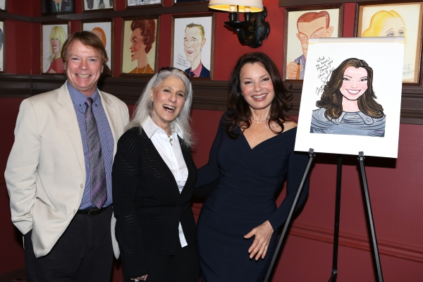 Jay Johnson,  Jamie deRoy and Fran Drescher