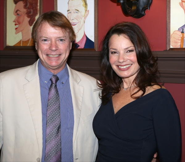 Jay Johnson and Fran Drescher