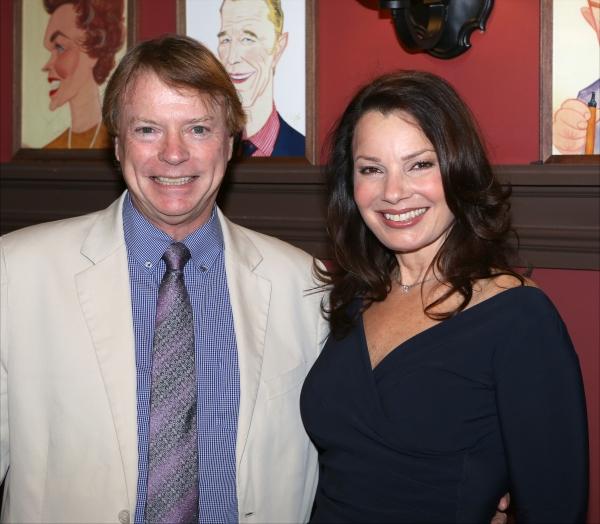 Jay Johnson and Fran Drescher