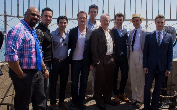 Photo Coverage: 2014 Tony Award Nominees Celebrate at the Top of the Empire State Building!