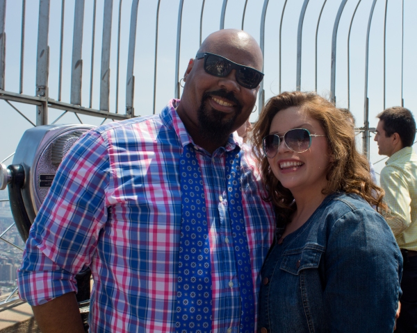 Photos: 2014 Tony Award Nominees Celebrate at the Top of the Empire State Building!