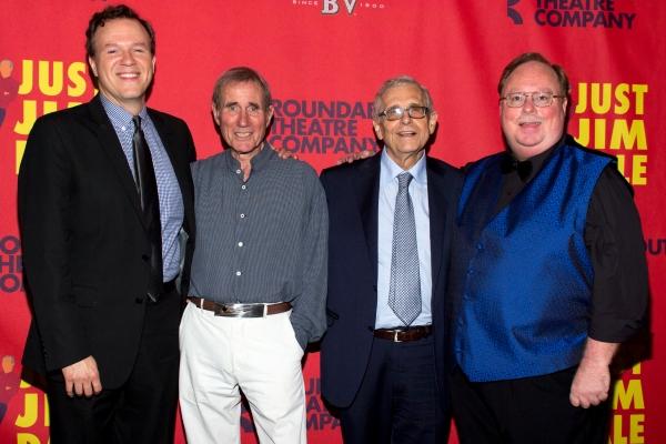 Aaron Gandy, Jim Dale, Richard Maltby, Jr., Mark York Photo