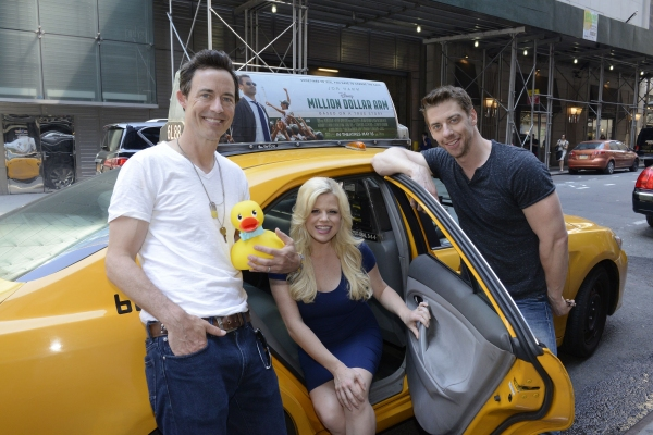 Photo Flash: Megan Hilty, Christian Borle & Tom Cavanagh Promote Disney Jr's LUCKY DUCK in NYC
