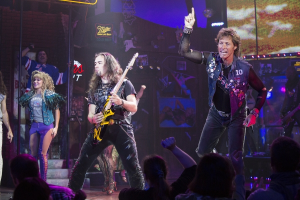 Photo Coverage: Ron Duguay Celebrates the NY Rangers at ROCK OF AGES!