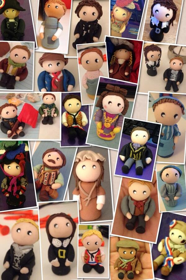 BWW Blog: 'Evolution of the Revolution' - LES MIZ Dolls