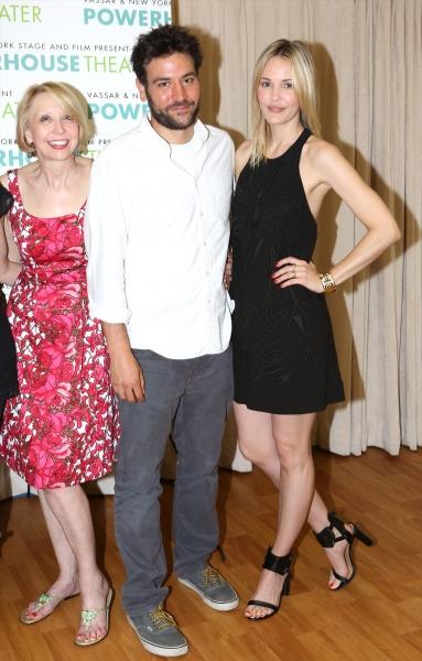 Julie Halston, Josh Radnor and Leslie Bibb a