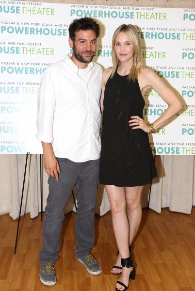Josh Radnor and Leslie Bibb