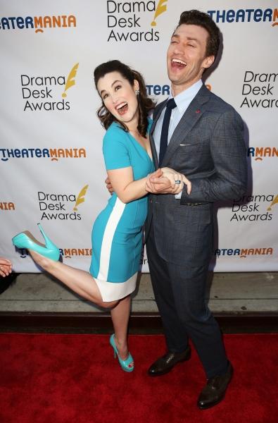 Lauren Worsham and Bryce Pinkham