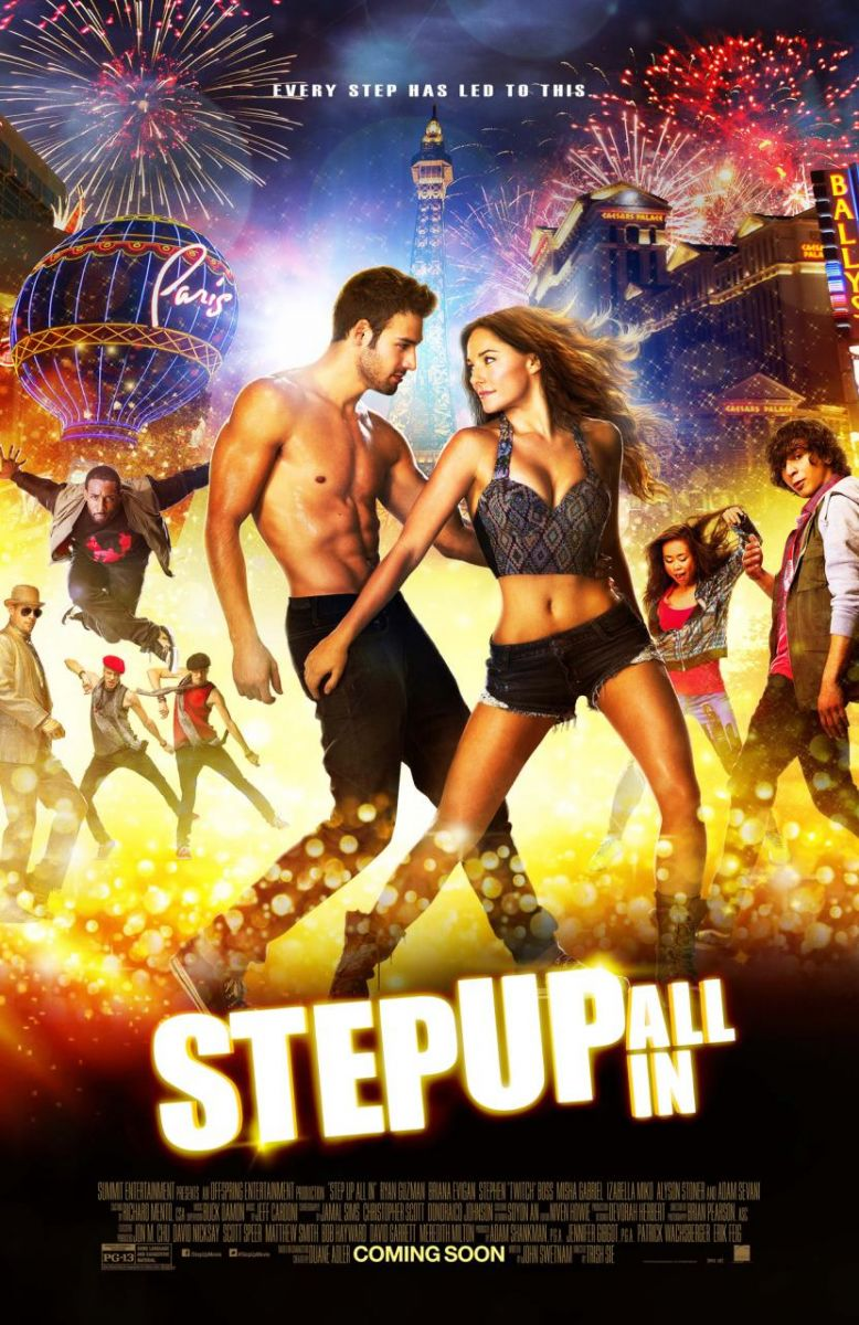 First Look - All-New Poster Art for STEP UP ALL IN