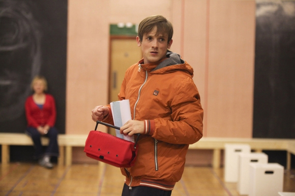 Photo Flash: In Rehearsal with the Cast of THE CURIOUS INCIDENT OF THE DOG IN THE NIGHT-TIME, Begin. 24 June at Gielgud Theatre