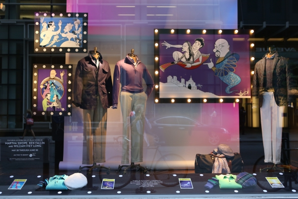 Photo Coverage: Paul Stuart Windows Celebrate Broadway: Ken Fallin-A Salute to the Tonys