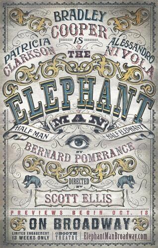 Photo Flash: THE ELEPHANT MAN Broadway Artwork Revealed!