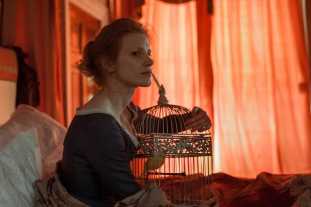 More New Production Photos Of Jessica Chastain & Colin Farrell In MISS JULIE