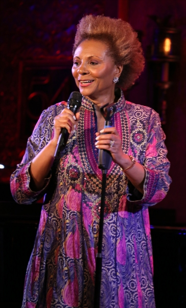 Photo Coverage: Leslie Uggams Previews CLASSIC UGGAMS at 54 Below