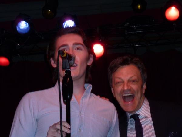 Caleb Ryan and Jim Caruso