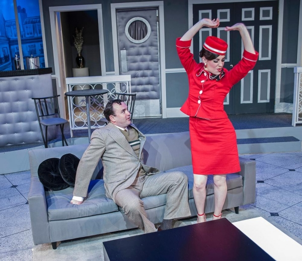 Photo Flash: First Look at Cortland Rep's BOEING BOEING, Opening Tonight