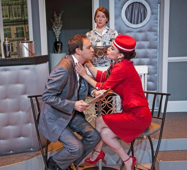 Trent Fucci as Bernard, Wendy Bagger as Berthe and Tayler Beth Anderson as Gloria. Photo