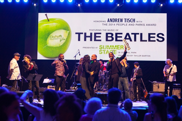 Photo Flash: Inside the 2014 City Parks Foundation Gala - THE BEATLES