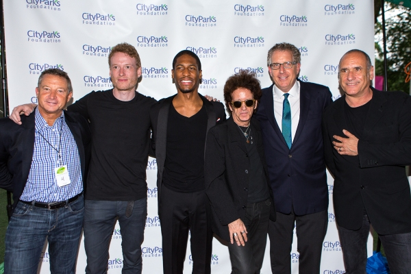 David Barse, Teddy Thompson, John Batiste, Willie Nile, David Moore and David Broza