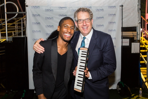 Jon Batiste and David Moore