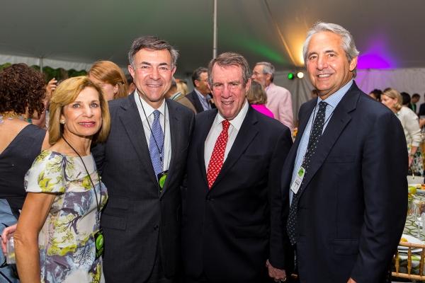 Kathy Gantz, Bob Harrison, Andrew Tisch and Jim Schreiberg Photo