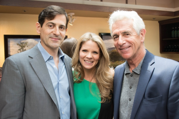 Photo Flash: Jason Robert Brown, Steven Pasquale & More Honor Tony Nominee Kelli O'Hara at Becco