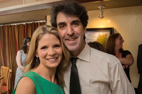 Photo Flash: Jason Robert Brown, Steven Pasquale & More Honor Tony Nominee Kelli O'Hara at Becco