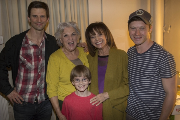 Photo Flash: Valerie Harper Visits Tyne Daly at MOTHERS AND SONS