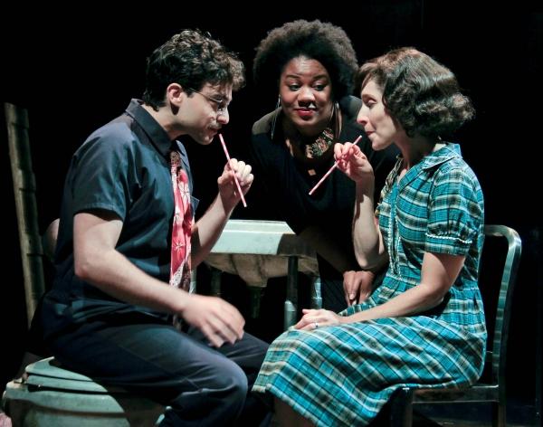 Ari Butler, Adrienne C. Moore, Tracy Michailidis Photo