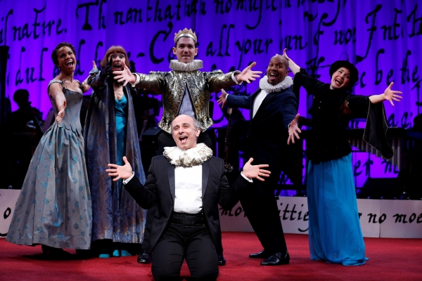 Photo Flash: First Look at SING FOR YOUR SHAKESPEARE at Westport Country Playhouse