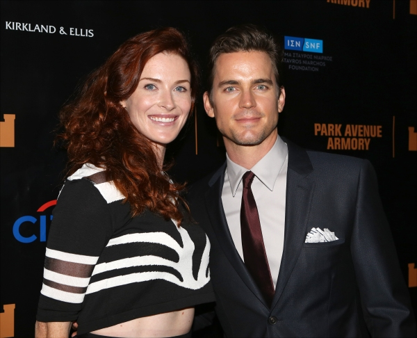 Bridget Regan and Matt Bomer