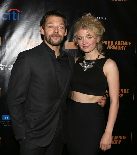 Richard Coyle and Scarlett Strallen