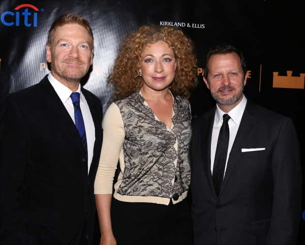 Kenneth Branagh, Alex Kingston and Rob Ashford