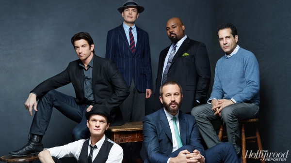 Neil Patrick Harris, James Monroe Iglehart, Andy Karl, Jefferson Mays, Chris O''Dowd and Tony Shalhoub