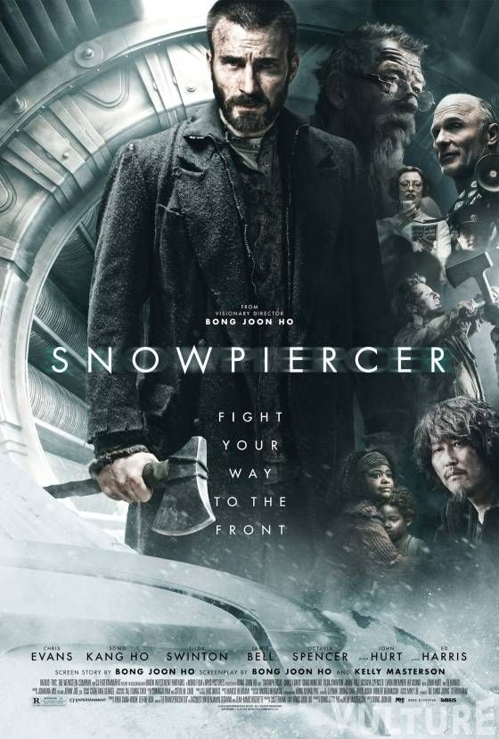 First Look - Chris Evans Featured in New Poster Art for Thriller SNOWPIERCER