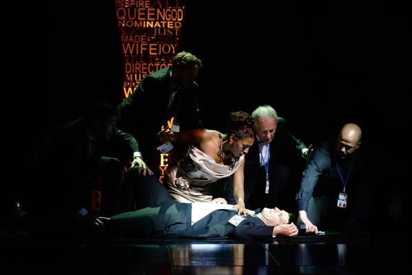 Alexandra Burke, Tristan Gemmill & Cast Photo