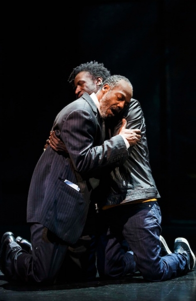 Photo Flash: First Look at Tupac Musical HOLLER IF YA HEAR ME on Broadway!