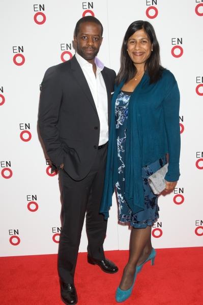 Adrian Lester and Lorita Chakrabarti Photo